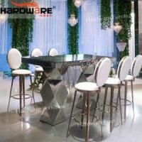 China Bar Chair Stainless steel bar stool on sale