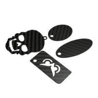 China Carbon fiber key chain make to order on sale