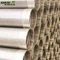 Quality 8 5/8 Inch Continuous Slot Wire Wrapped Johnson Wedge Wire Screens for sale