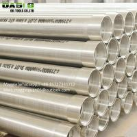 Quality SS304 Johnson Strainer Well Screen Wedge Wire Screen Pipes for sale