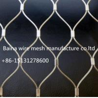 Quality stainless steel rope mesh for sale