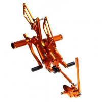 China Street Bike Aluminum Alloy Motorcycle Rear Sets For Sale on sale