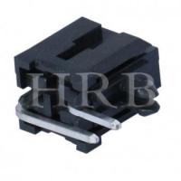 China DIP M3045R Right Angle Dual Row Header Connector with Snap-in Plastic Peg PCB Lock on sale