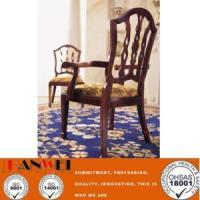 Quality Other Material Classic Wooden Chair With Armrest for sale