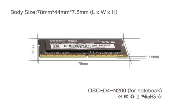 Buy Solid State Drive OSC-D4-N200 at wholesale prices