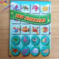 Quality 160pcs decor stickers for kids arts&craft for sale