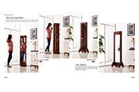 Buy cheap Dressing Mirror & Hat Rack from wholesalers