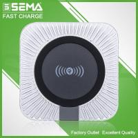 Quality JPD-Q62T Colorful Wireless Charger Plastic shell(round ) for sale