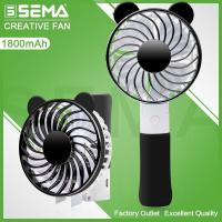Quality SEMA-L97-3 Cooling Fan with Plating, Foldable Bear Deisgn for sale