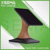 Quality JPD-Q66T Wooden Design Rotation Wireless Charger for sale
