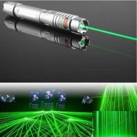 Quality 2000mW | 4000mW High Powerful Blue Laser Pointer With Black Silver Color Two Modules for sale
