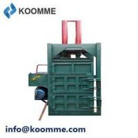 Buy cheap 22KW Labor Free Foam Cotton Vertical Recycle Baler from wholesalers