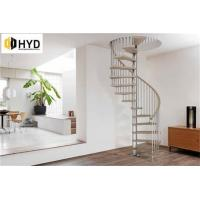 Quality HYD-SS028Cast iron indoor metal staircase new spiral staircases for sale
