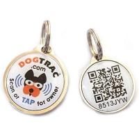 Quality Unique QR code PET dog identification lost tracking epoxy NF for sale