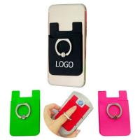 Quality Silicone Wallet Phone Ring Holder for sale