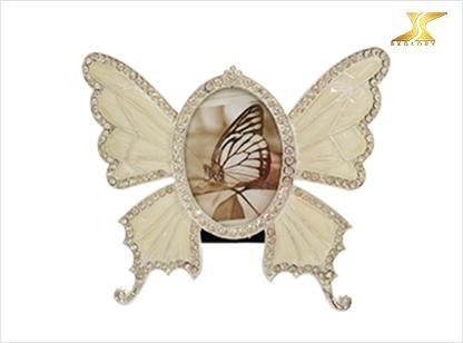 China Arts crafts Kids Favorable Baby photo frame india with butterfly shape