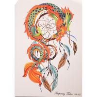 Quality New arrival indians dream catcher tattoo decals for sale