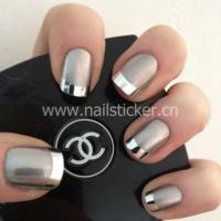 Quality Custom French smile line nail sticker factory for sale