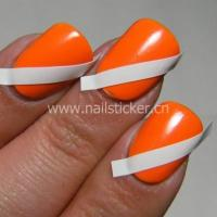 Quality Custom french nail tip guide sticker for sale