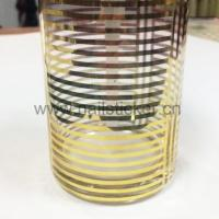 Quality OEM Printing Gold Foil Labels ,Waterproof Self Adhesive Private Logo Gold Water for sale
