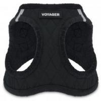 Quality Voyager Plush Harness - Black Base for sale