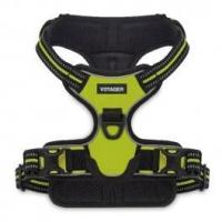 Quality Dual-Attachment Adjustable Harness - 3M Reflective Band - Lime for sale