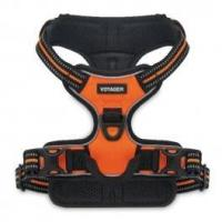 Quality Dual-Attachment Adjustable Harness - 3M Reflective Band - Orange for sale