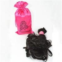 Quality Popular satin hair extension pouch for sale