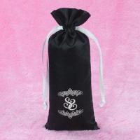 Hotsale Recyclable Drawstring Satin Hair Bags in Packaging Bags With Custom Logo