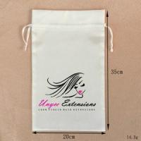 Quality Wholesale Custom Gift Satin Hair Bags With Personal Logo for sale