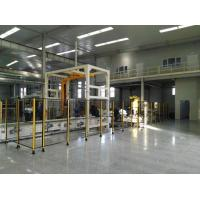 Quality Conveyorized Rotary Arm Pallet Wrapping Machine for sale