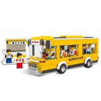 China WANGE city bus hot and new wholesale cheap toys building blocks for kids on sale