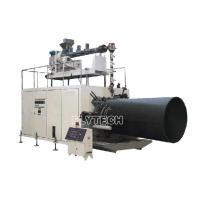 Buy cheap PE HOLLOW WALL WINDING PIPE MACHINE(300-2200MM) from wholesalers