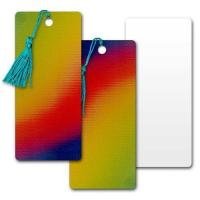 Quality d Lenticular Pvc Bookmark Yellow/Red/Blue Changing Colors for sale