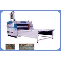 Quality Carton box printing machine Electrical Image Positioning Water Printing and Sub Pressing Machine for sale