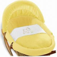 Buy cheap Yellow Horse Moses Baskets with Adjustable Hood and Foam Mattress from Wholesalers