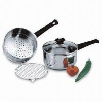 Buy cheap 4-piece Stainless Steel Steamer Pan Set from Wholesalers