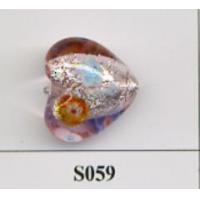 China Sell Sell silver foil lampwork glass beads on sale