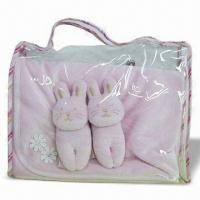 Buy cheap 3-piece Blanket Gift Set from Wholesalers