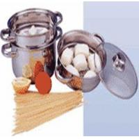 Buy cheap 3/4PCS STEAMER POT SET W/GLASS LID from Wholesalers