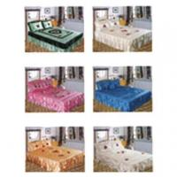 Buy cheap Embroidery Bedspread from Wholesalers